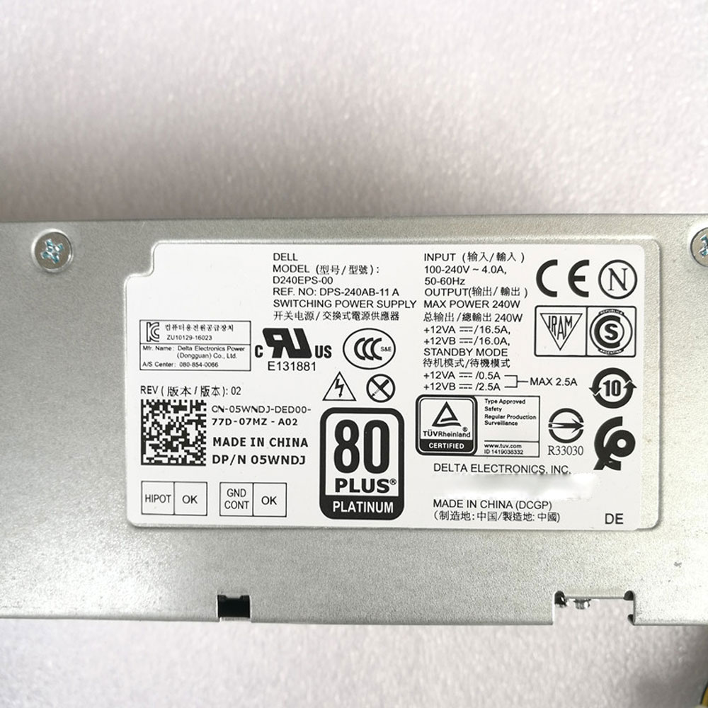 Dell D240EPS-00