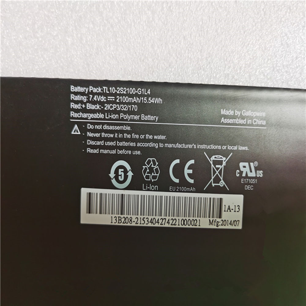 Hasee TL10-2S2100-G1L4